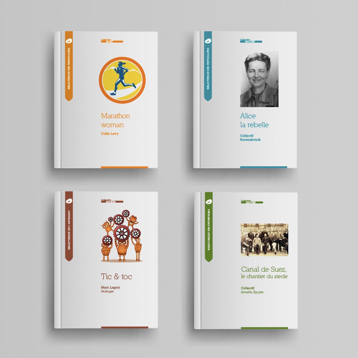 Collection livres Histoire et horizon